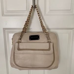 Marc Jacobs Nameplate Bag with Gold Chain Handles